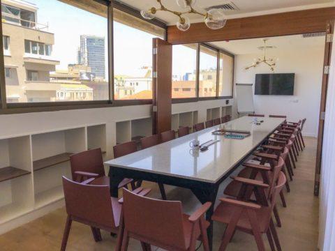 אורבן פלייס מגדל שלום - Urban Place Shalom Tower - חלל עבודה בתל אביב