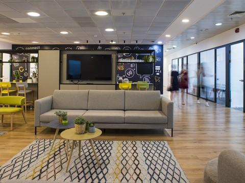 חדר טיפולים בקונקט מודיעין - Connect Modi'in - חלל עבודה במודיעין
