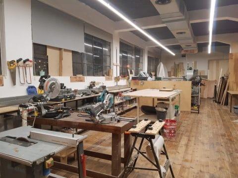 שין שבע - ShinSheva - חלל עבודה בתל אביב