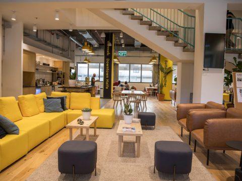 ווי-וורק דאונטאון חיפה - WeWork Downtown Haifa - חלל עבודה בחיפה