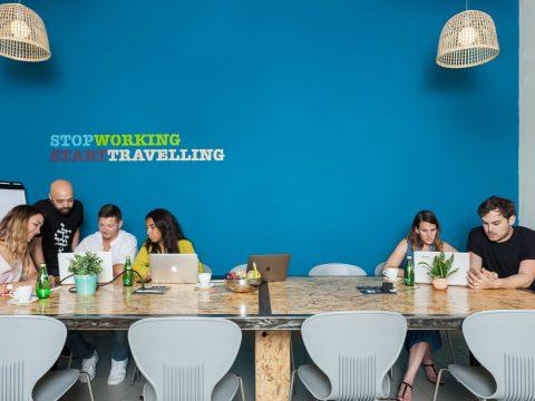 אברהם ביזנס - Abraham Business - חלל עבודה בתל אביב