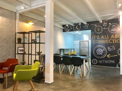 קונקט פולג נתניה - Connect Poleg Netanya - חלל עבודה בנתניה