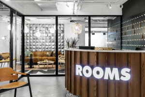ROOMS מבית פתאל הופכת להיות המותג השלישי בגודלה בישראל בתחום חללי העבודה המשותפים